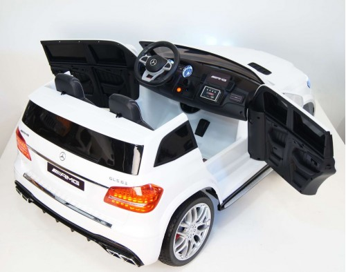 Детский электромобиль GLS63 AMG белый