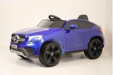 Детский электромобиль Mercedes-Benz GLC (K777KK) синий глянец