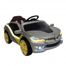 Детский электромобиль O 002 OO Vip серебристый