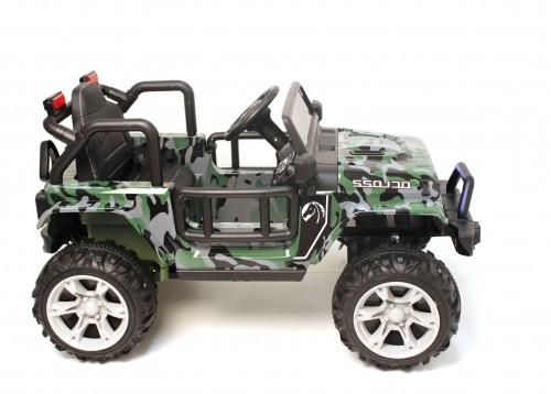 Детский электромобиль Т222ТТ камуфляж