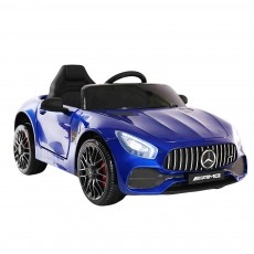 Детский электромобиль О008ОО Mercedes-Benz GT синий глянец