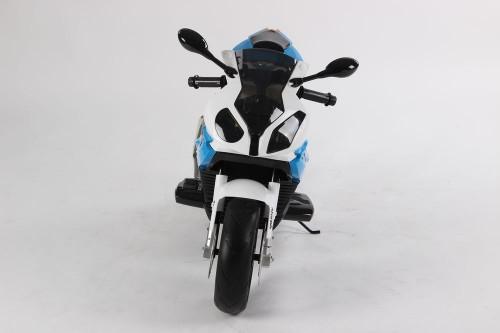 Детский электромотоцикл BMW (JT528) синий