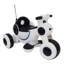Детский электромотоцикл HL300 белый