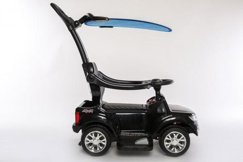 Детский толокар Ford Ranger DK-P01-Р черный с ручкой