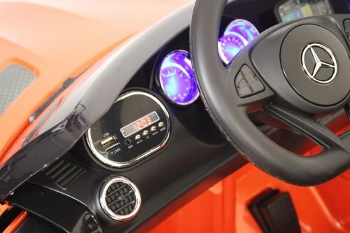 Детский электромобиль О008ОО Mercedes-Benz GT оранжевый