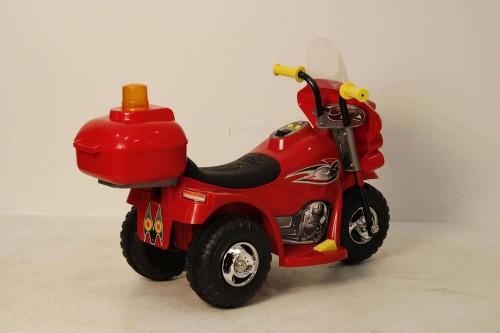 Детский электромотоцикл HL-218 красный