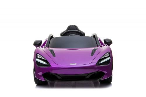 Детский электромобиль McLaren 720S фиолетовый глянец