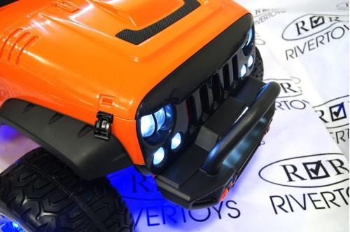 Детский электромобиль А004АА оранжевый