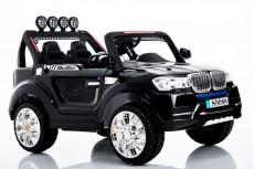 Детский электромобиль Т005 ТТ черный (4*4)