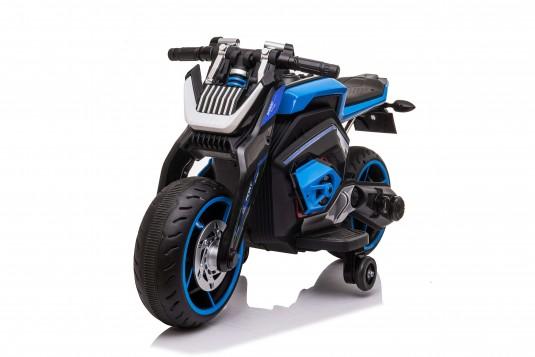 Детский электромотоцикл X111XX синий