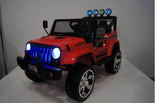 Детский электромобиль T008TT (4х4)  красный