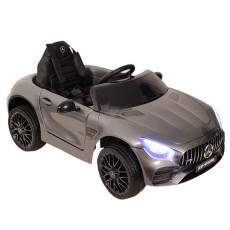 Детский электромобиль Mercedes-Benz GT (O008OO) серебристый глянец