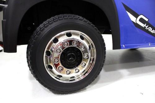 Детский электромобиль Mercedes-Benz Actros HL358 синий глянец
