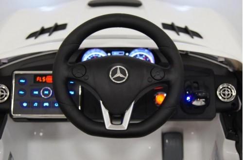 Детский электромобиль Mercedes-Benz SLS Vip (A333AA) белый
