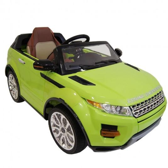 Детский электромобиль A111AA Vip зеленый