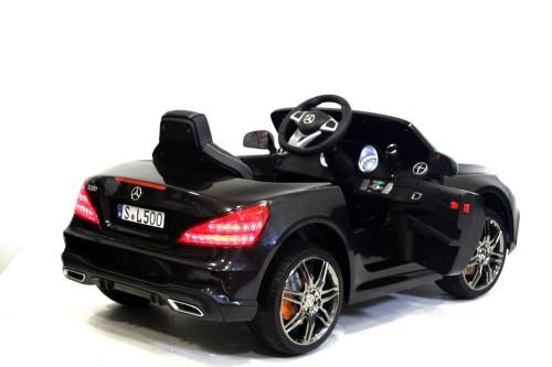 Детский электромобиль Mercedes-Benz SL500 черный