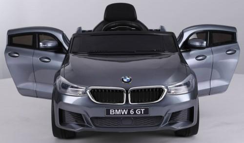 Детский электромобиль BMW6 GT (JJ2164) серый глянец