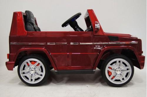 Детский электромобиль Benz G65 (LS-528) красный глянец