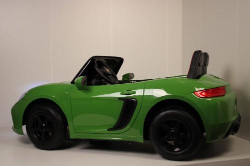 Детский электромобиль T911TT зеленый глянец