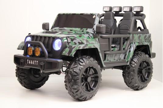 Детский электромобиль T444TT 4WD камуфляж