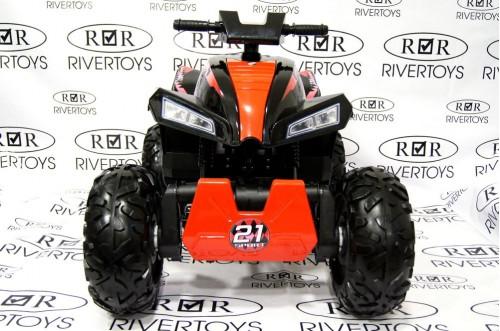 Детский электроквадроцикл T777TT черный