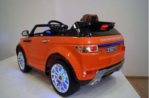 Детский электромобиль А111АА оранжевый VIP