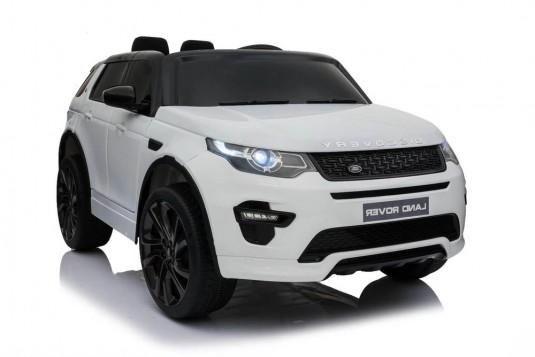 Детский электромобиль Land Rover o111oo белый