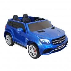Детский электромобиль GLS63 AMG синий глянец