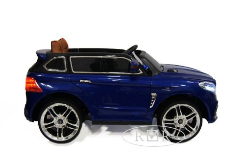 Детский электромобиль E009KX синий глянец