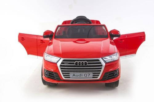 Детский электромобиль Ауди Q7 quattro красный глянец