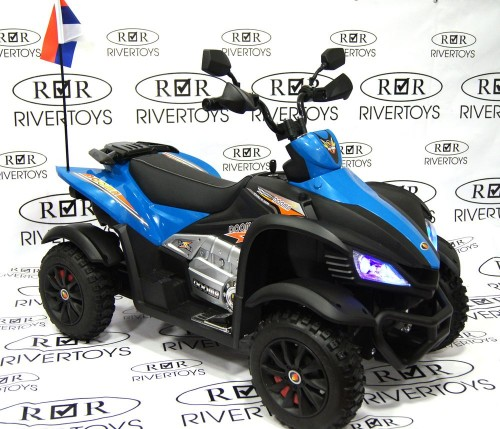 Детский электроквадроцикл Р333РР синий