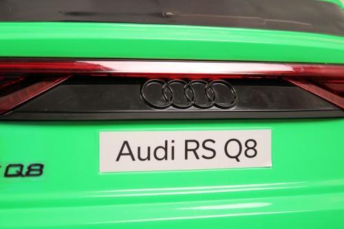 Детский электромобиль Audi RS Q8 (HL518) зеленый
