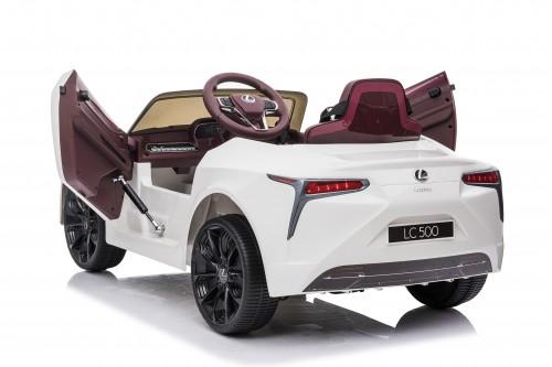 Детский электромобиль Lexus LC 500 (JE1618) белый