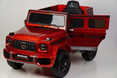Детский электромобиль Mercedes-Benz G63 (K999KK) вишневый глянец