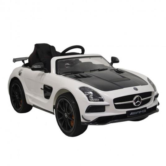 Детский электромобиль А333АА белый VIP-CARBON