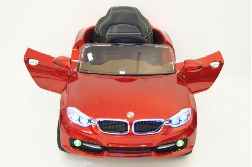 Детский электромобиль Р333ВР вишневый глянец