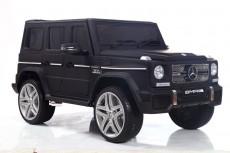 Детский электромобиль Мercedes-Benz G65 черный матовый