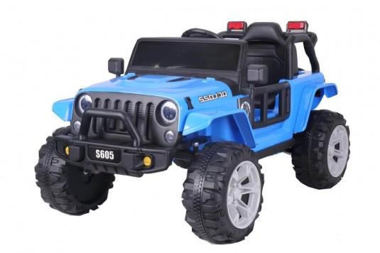Детский электромобиль T222TT синий