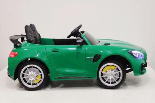 Детский электромобиль Mercedes-Benz GT-R зеленый