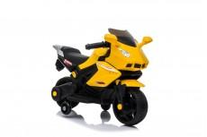Детский электромотоцикл S602 желтый