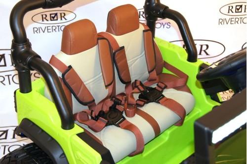 Детский электромобиль А004АА зеленый