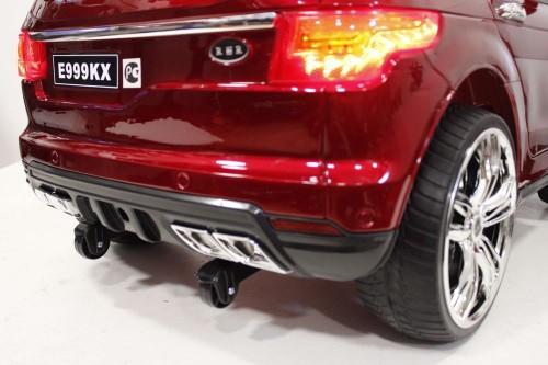 Детский электромобиль E999KX вишневый глянец