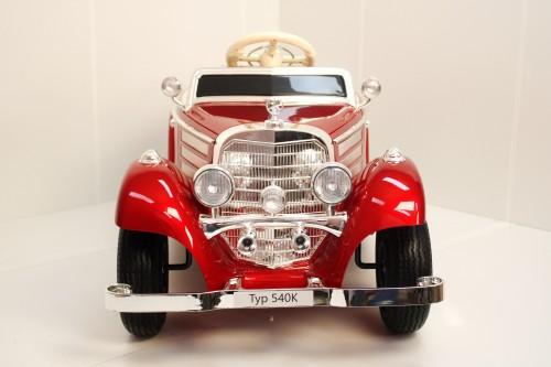 Детский электромобиль Mercedes-Benz М111ММ вишневый глянец