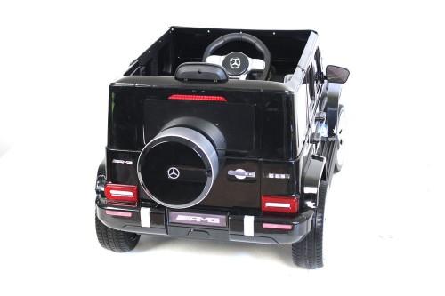 Детский электромобиль Mercedes-Benz G63 (T999TT) черный глянец