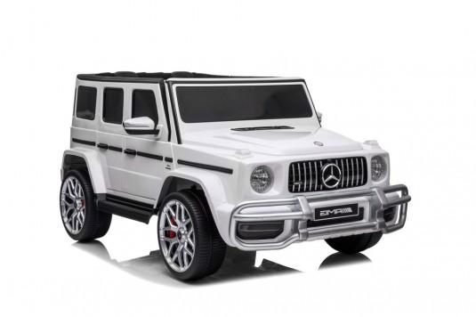 Детский электромобиль AMG G63 4WD (S307) белый